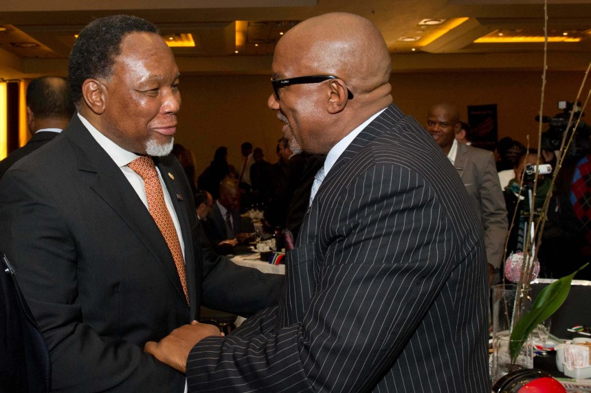 Kgalema Motlanthe and Sipho Mabuse