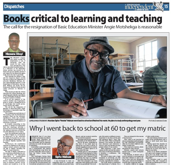 The Sunday Independent - 5 Aug 2012