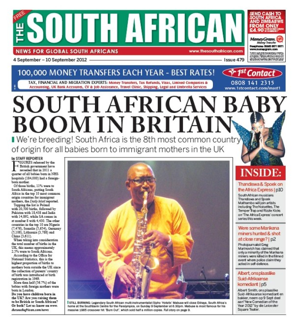 """Ekhaya to close with show by Sipho """"Hotstix"""" Mabuse 