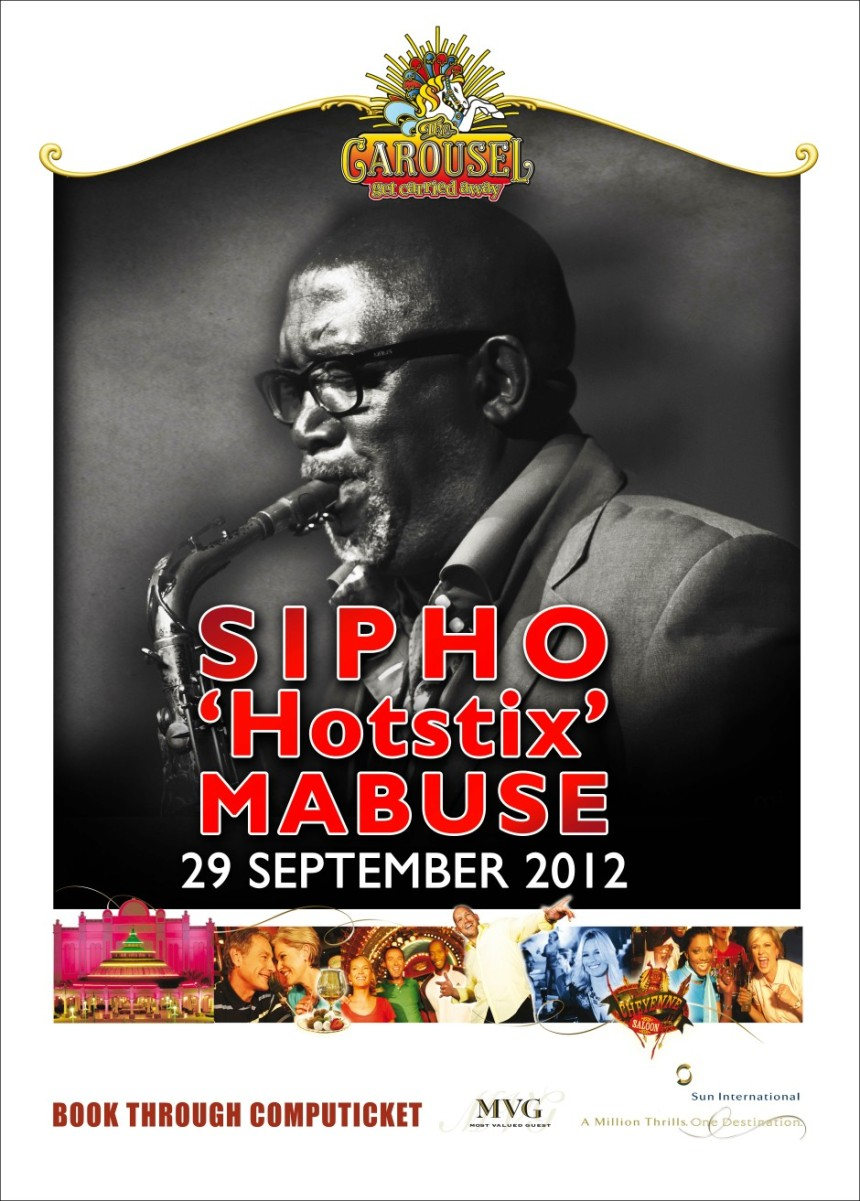 Sipho Hotstix Mabuse Poster