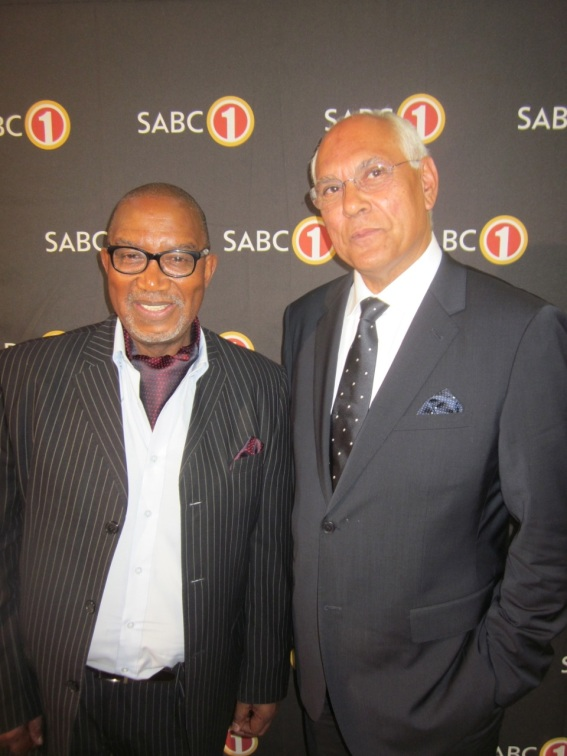 "Trevor Jones and Sipho ""Hotstix"" Mabuse"