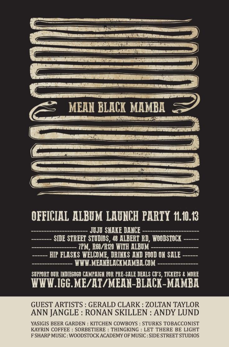 Mean Black Mamba Album Launch