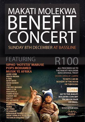 Makati Molekwa Benefit Concert