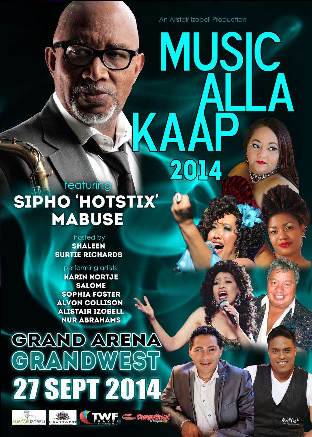 Music Alla Kaap 2014