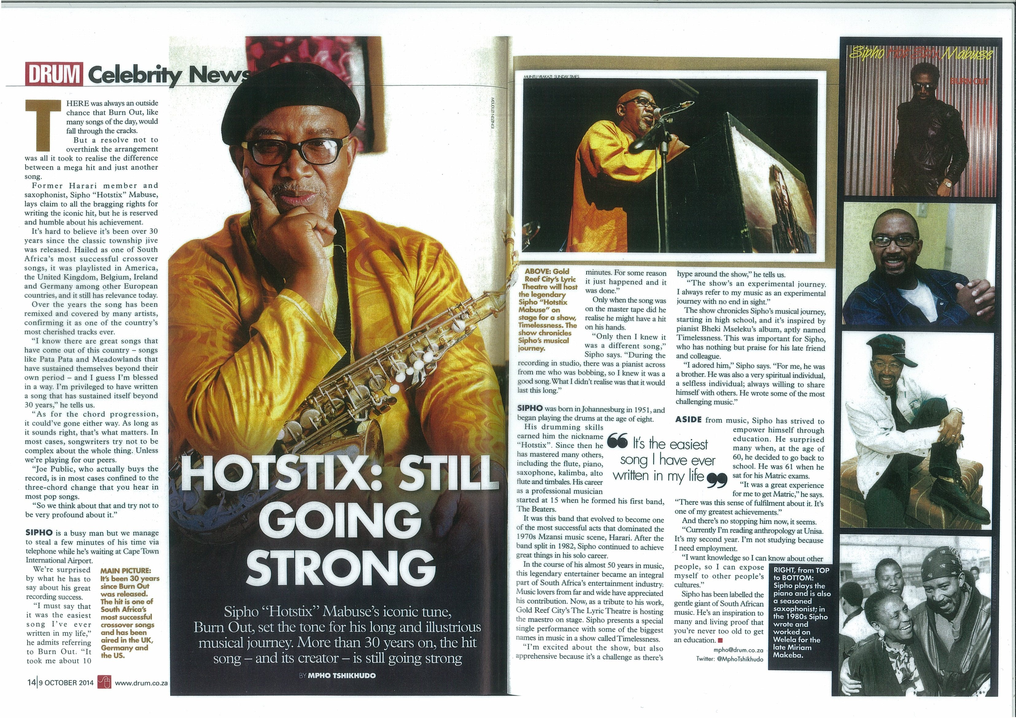 "Sipho ""Hotstix"" Mabuse 