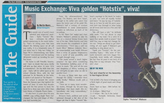 Music Exchange Viva golden Hotstix, viva
