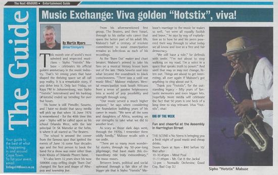 Music Exchange Viva golden Hotstix, viva
